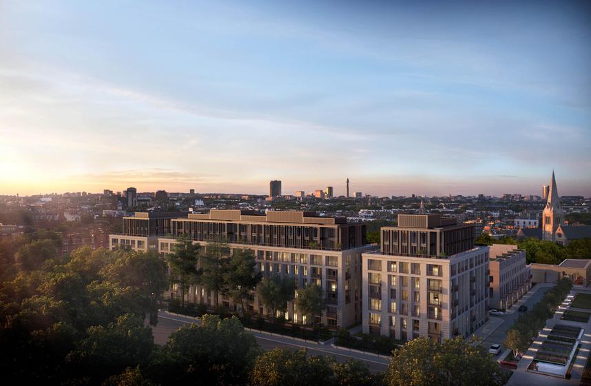 Chelsea Barracks Masterplan slider image