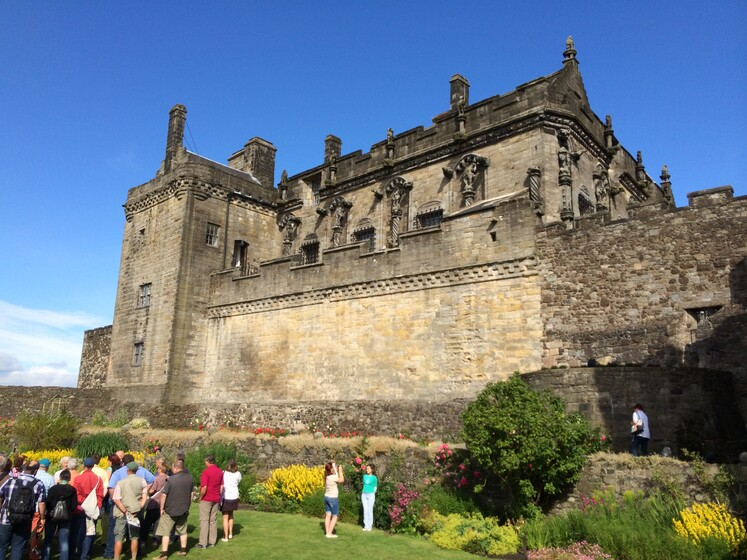 Stirling Castle slider image