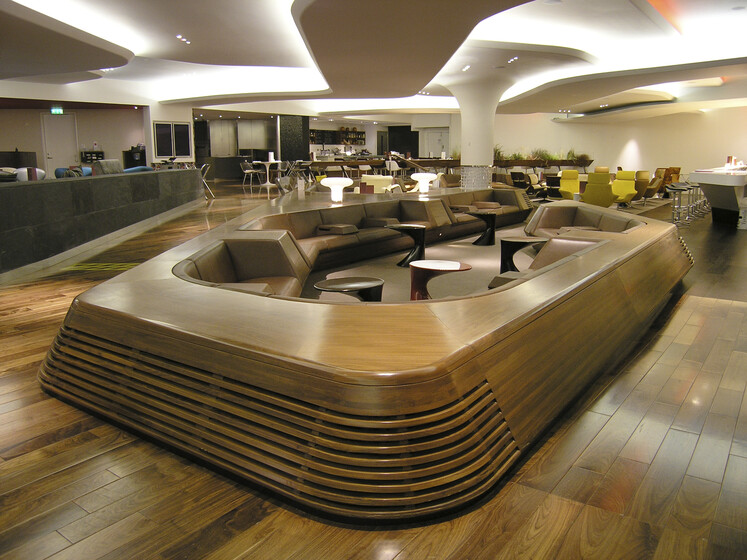 Virgin Upper Class Lounge slider image