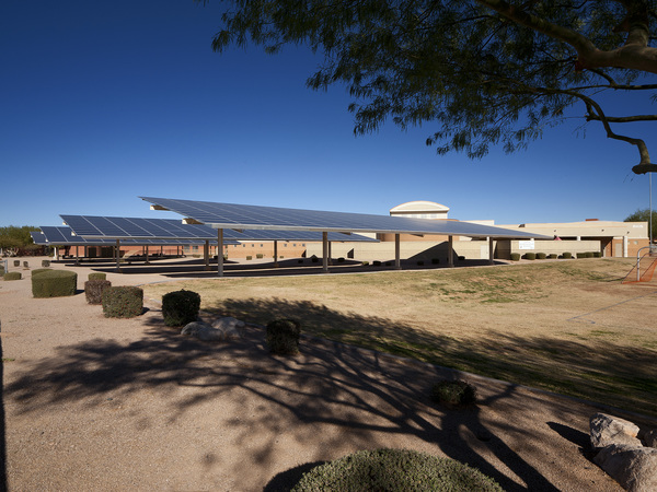 Solar Installation at Dysart Unified School District