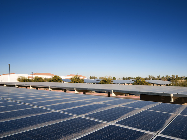 Solar Installation at Buckeye Union High School District