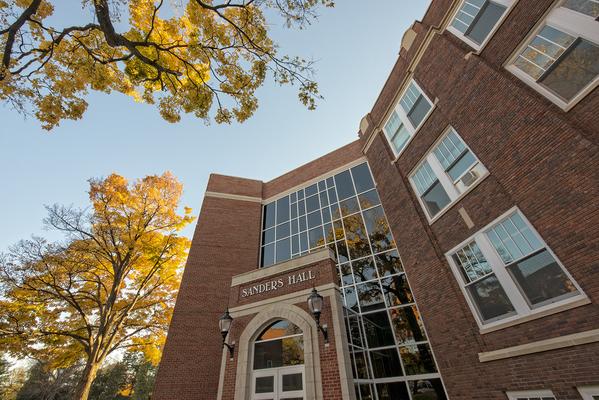 Sanders Science Hall at Eureka College