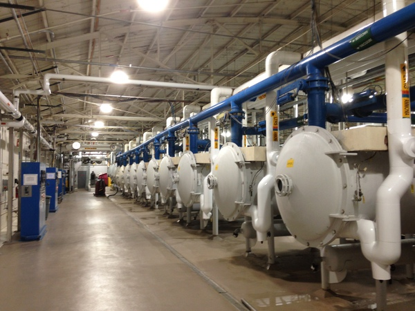 Drum Dry Facility, Phase I, II, & III
