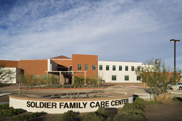 Consolidated Troop Medical Clinic at Fort Bliss