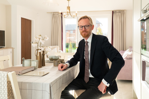 Image of Yorkshire's land director, Ben Smith