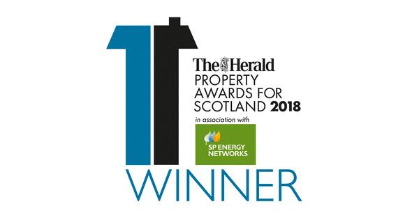 Avant Homes Property Award for Scotland 2018