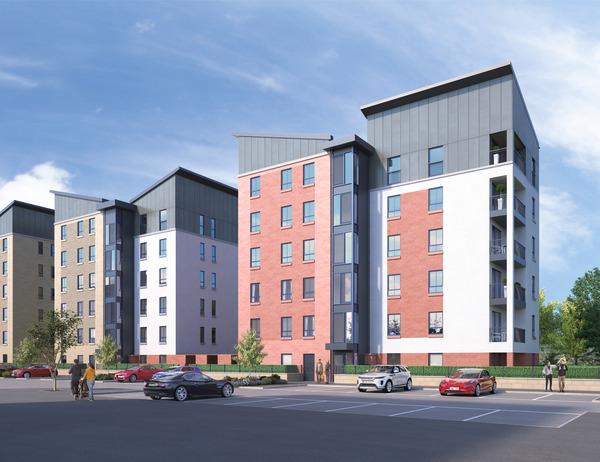 CGI of Avant Homes development, Richmond Gate