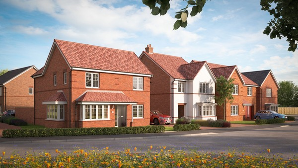 CGI of Merlin's Point in Witham St Hughs
