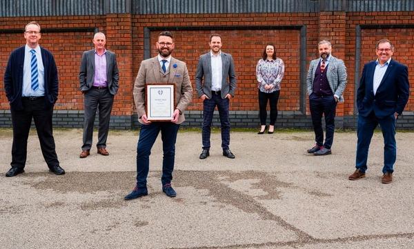 Avant Homes receiving ROSPA award