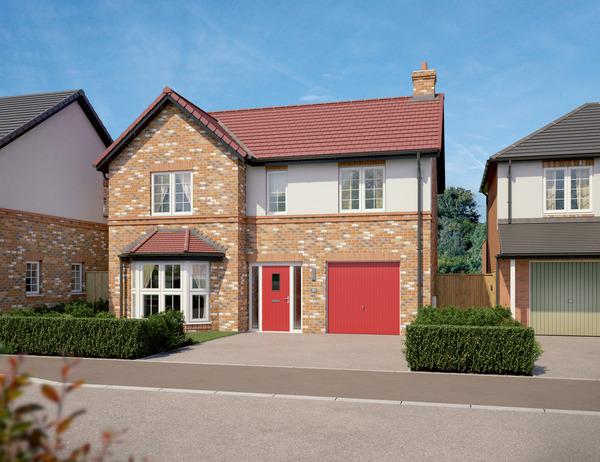 CGI of Avant Homes development Newton Wood in Guisborough