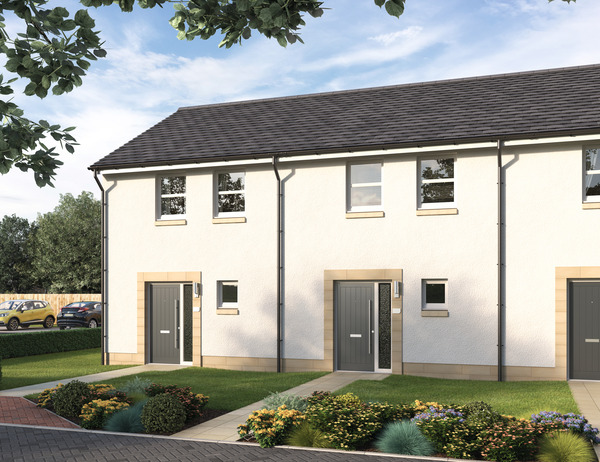 CGI of Avant Homes development Balfour Park in Edinburgh