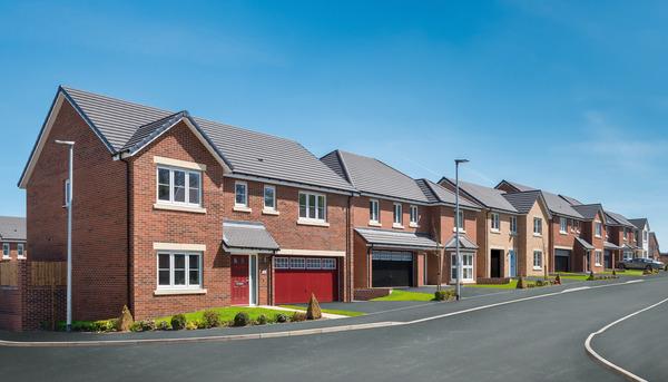 CGI of Avant Homes development Millbrook in Nunthorpe