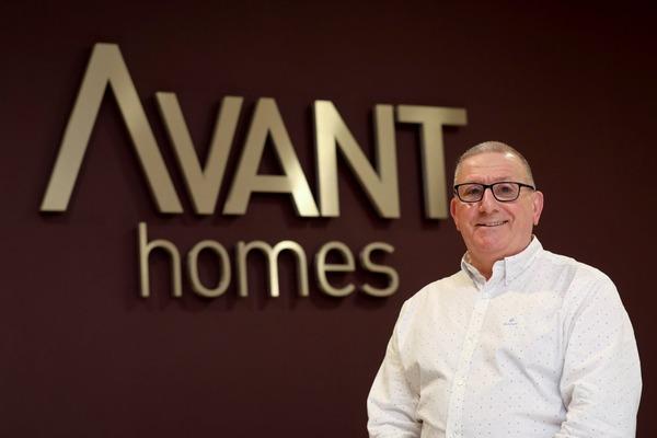Avant Homes North East regional development director Tony Johnson