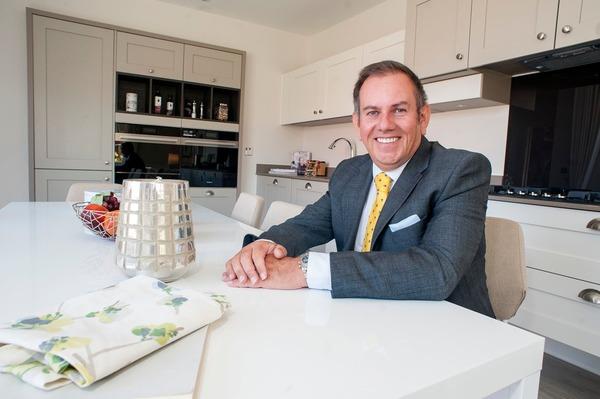 vant Homes Central managing director, Stuart Rowland, at Clay Cross development