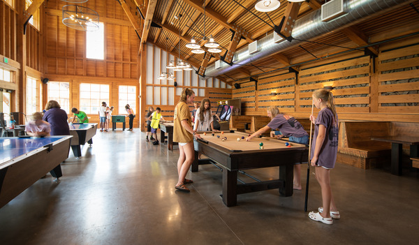 Interior Photo of Young Life's Washington Family Ranch