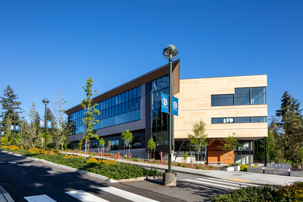 Architecture Photo of Bellevue College Student Success Center