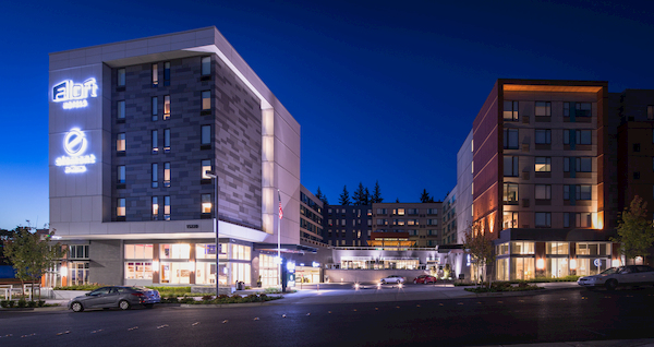 Architecture Photo of Aloft & Element Seattle Redmond Hotels
