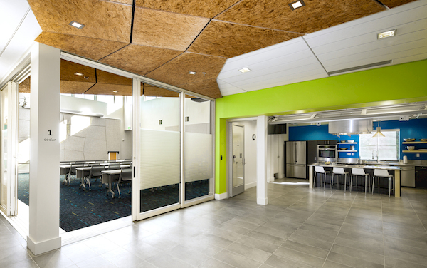 Interior Photo of Verdant Community  Wellness Center