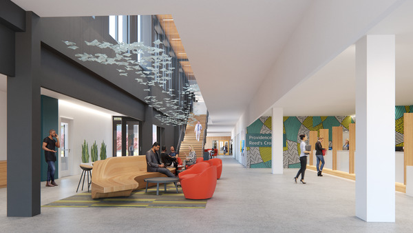Interior Photo of Active Wellness Center