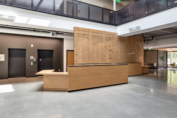 Interior Photo of Bellevue College Student Success Center