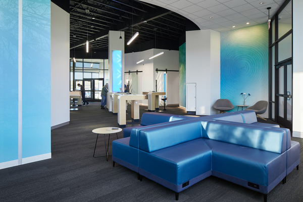Interior Photo of First Tech Federal Credit Union: Cedar Hills Branch