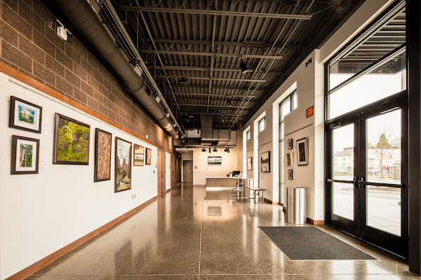 Interior Photo of Sherwood Center for the Arts